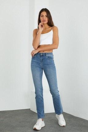 VENA Gabrıel Kadın Med Blue Denim Pantolon 1
