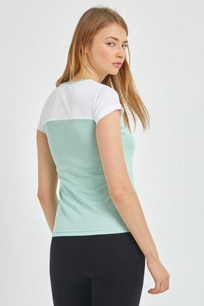 Slazenger Randers I Kadın T-shirt Yeşil St11tk002 3
