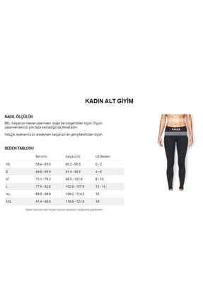 Under Armour Kadın Spor Tayt - UA HG Armour Legging - 1309631-019 2