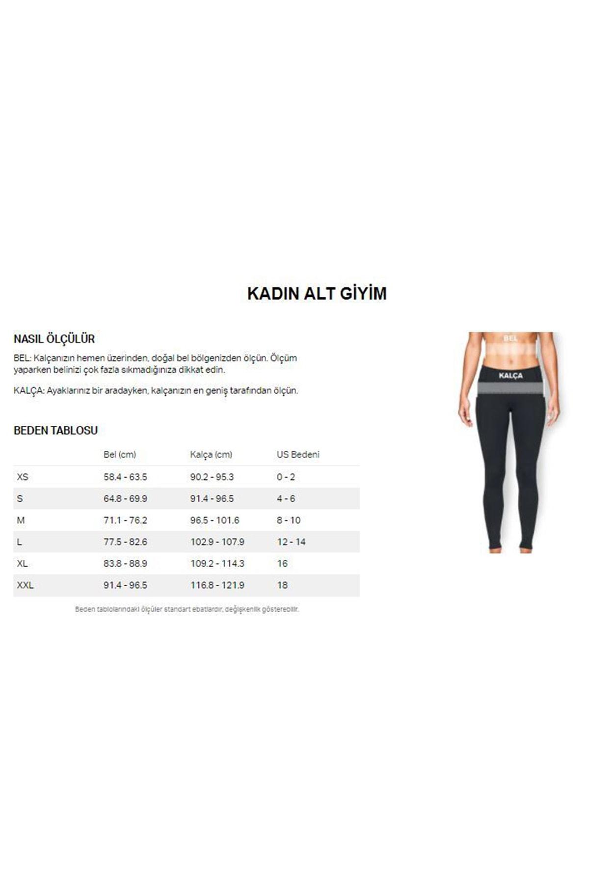 Under Armour Kadın Spor Tayt - Ua Run Anywhere Crop - 1357897-001