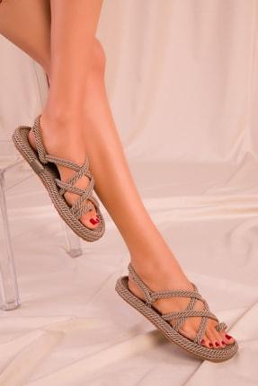 Soho Exclusive Vizon Kadın Sandalet 14737 2