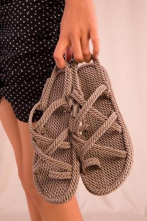 Soho Exclusive Vizon Kadın Sandalet 14737 3