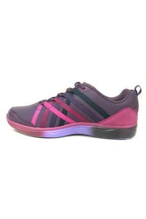 Lescon Kadın   Spor Ayakkabı L4129 Mürdüm Helium Lifestyle 2