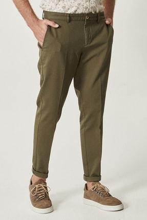 Altınyıldız Classics Erkek Yeşil Slim Fit Desenli Pantolon 1