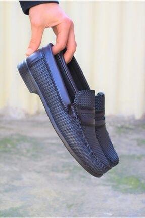 ALBİDÜNYA Erkek Lacivert Ortopedik Tabanlı Baskı Detay Modelli Günlük Ayakkabı 1