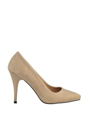 Soho Exclusive Ten Süet Kadın Klasik Topuklu Ayakkabı 15731 3
