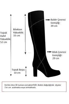 Fox Shoes Siyah Kadın Çizme G922920502 3