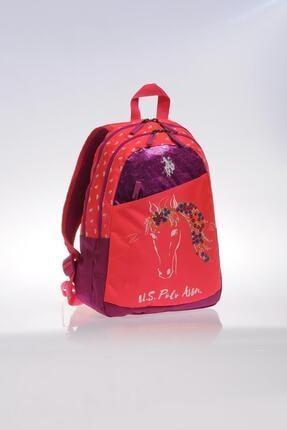 US Polo Assn Pembe Kız Çocuk  Okul Çantası 8681379478601 1