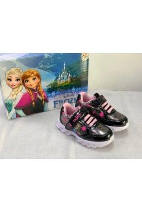 Kız Çocuk Bantlı Siyah Renk Elsalı Spor Ayakkabı Dolly resmi