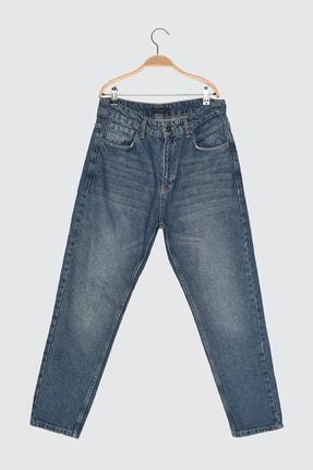 Picture of Açık Lacivert Erkek Slim Fit Cropped Jeans TMNSS21JE0053