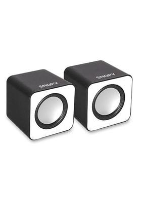 Snopy Sn-66 2.0 Usb Speaker Beyaz 0