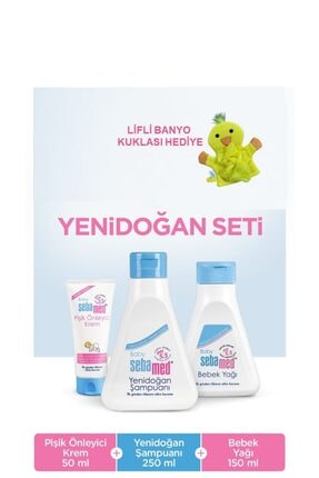Sebamed Yenidoğan Banyo Seti 1