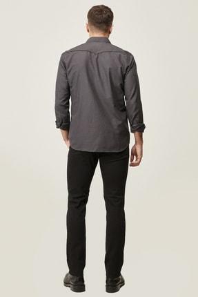 Altınyıldız Classics Erkek Siyah 360 Derece Her Yöne Esneyen Rahat Slim Fit Pantolon 3