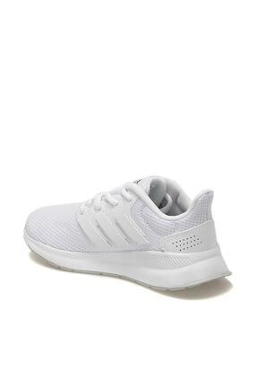 adidas RUNFALCON K Beyaz Unisex Çocuk Koşu Ayakkabısı 100482038 2