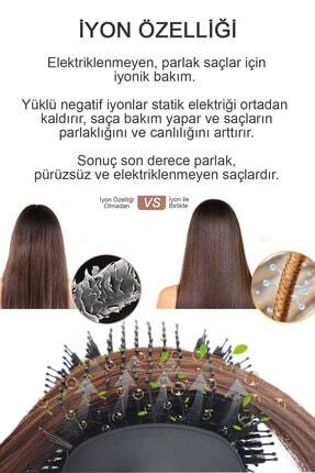 Hairens Hrs-800 Iyonik Hacimlendirici Saç Kurutma Fırçası & Saç Düzleştirici & Saç Kurutma Makinesi 1200watt 4