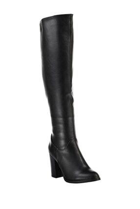 Fox Shoes Siyah Kadın Çizme A654018009 1