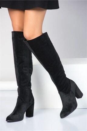 Fox Shoes Siyah Kadın Çizme A654018002 0