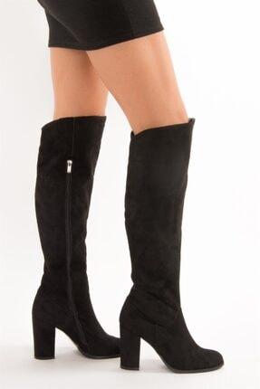 Fox Shoes Siyah Kadın Çizme A654018002 1
