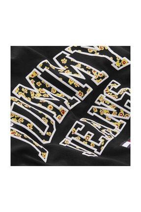 Tommy Hilfiger Kadın Siyah T-Shirt Tjw Collegıate Floral Tee DW0DW09144 2