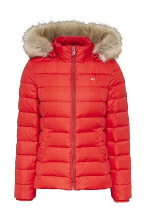 Tommy Hilfiger Tjw Basıc Hooded Down Jacket 0