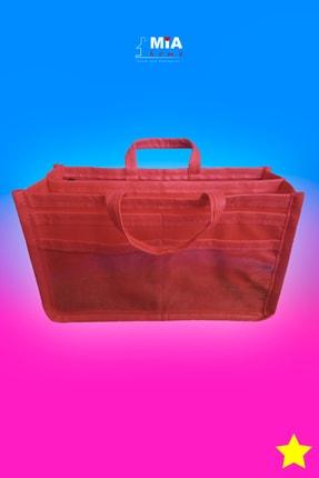 MİA Home Production Makyaj Ve Çok Amaçlı Kırmızı Çanta Içi Düzenleyeyici  Organizer 1