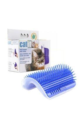 Zzn Kedi Kaşınma Tırmalaması Catnipli Tüy Tarama Masajı Kenar Fırçası 2