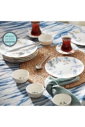 Karaca Bonita Blue 26 Parça 6 Kişilik Kahvaltı Takımı 0