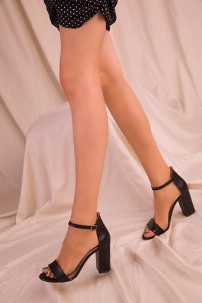Soho Exclusive Siyah Kadın Klasik Topuklu Ayakkabı 14532 2