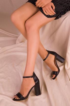 Soho Exclusive Siyah Kadın Klasik Topuklu Ayakkabı 14532 3