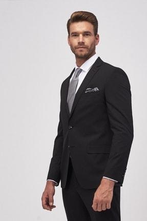 Altınyıldız Classics Erkek Siyah Slim Fit Takım Elbise 2