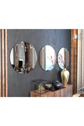 Camex Store 3 Parçalı Dekoratif Yuvarlak Şekilli Ayna 1