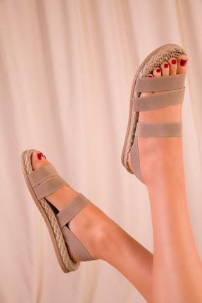 Soho Exclusive Vizon Kadın Sandalet 15098 2