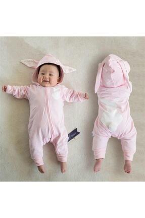 Bebe Tavşanlı K Tulum Pembe 0