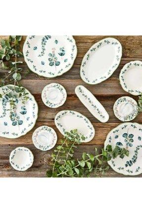 Bella Maison Ocaliptus 26 Parça 6 Kişilik Kahvaltı Takımı Yeşil 0