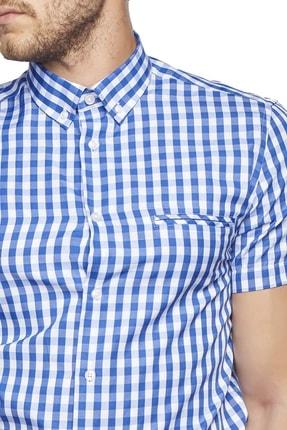 Altınyıldız Classics Tailored Slim Fit Kısa Kollu Gömlek 4