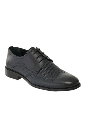 Altınyıldız Classics Erkek Lacivert Klasik Deri Ayakkabı 0
