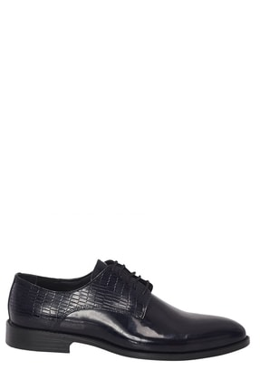 Altınyıldız Classics Erkek Lacivert Klasik Rugan Ayakkabı 1