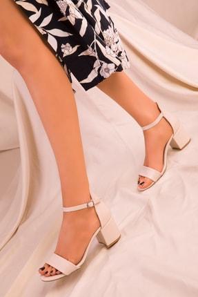 Soho Exclusive Ten Kadın Klasik Topuklu Ayakkabı 14529 1