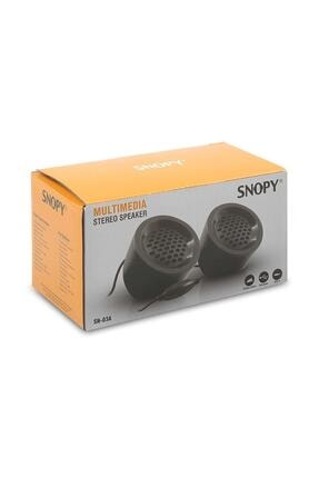 Snopy Sn-03a 2.0 Siyah 2wx2 Usb Mini Multimedia Speaker 1