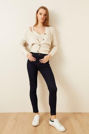 Love My Body Kadın Lacivert Cepli Skinny Jean Pantolon 153M1628000 0