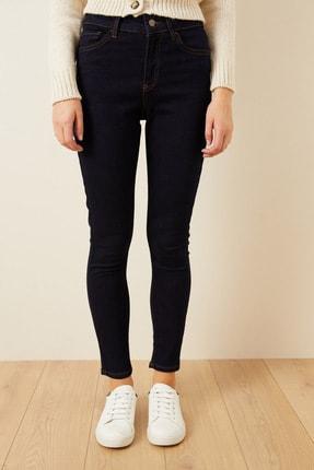 Love My Body Kadın Lacivert Cepli Skinny Jean Pantolon 153M1628000 1
