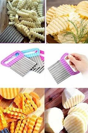 Trend Kitchen Chips Chopper Şekilli Sebze Ve Meyve Dilimleyici 0