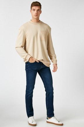 Koton Erkek Lacivert Jean Pantolon 1