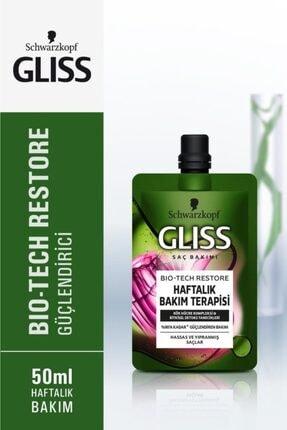 Gliss Schwarzkopf Gliss Bio-Tech Haftalik Bakim  Terapisi 50 Ml 1
