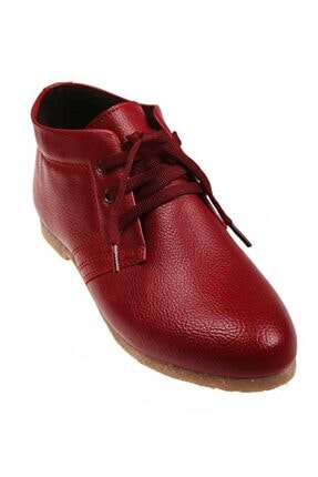 Kadın Pembe Potin Bordo Ayakkabı ybak-3a-11638