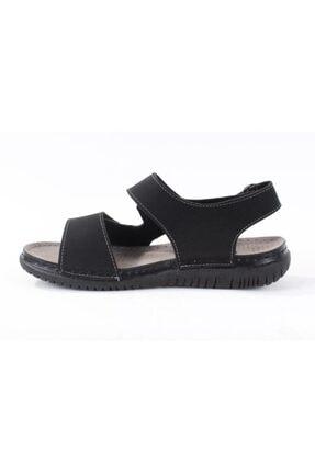 Polaris 160254.M Siyah Erkek Sandalet 100501000 2