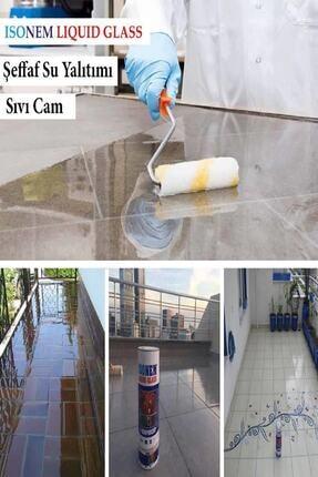 Isonem Liquid Glass (Sıvı Cam) 2 Kg Şeffaf Zemin Su Yalıtımı 3
