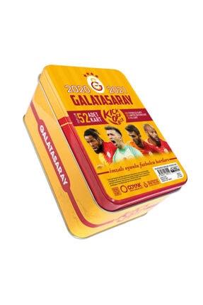 ODYAK Gs Galatasaray 2020-2021 Lisanslı Imzalı Sezon Taraftar Futbolcu Oyuncu Futbol Kartları Kick Off Box 0