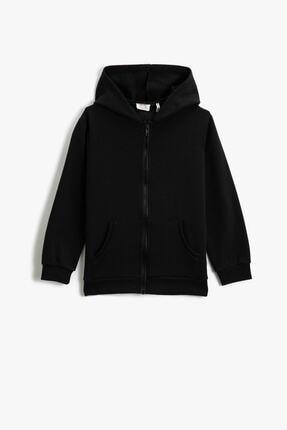 Koton Siyah Erkek Çocuk Sweatshirt 0