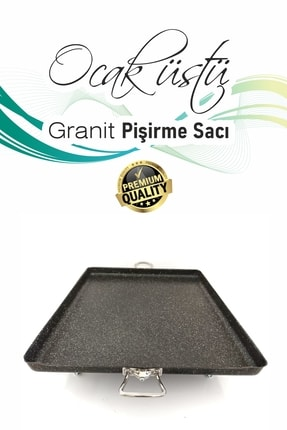 WUXOR Ocak Üstü Granit Pişirme Sacı 3
